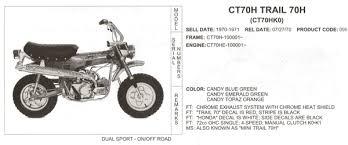 tbolt usa tech database tbolt usa llc honda ct70 identification guide tbolt usa tech database tech 0142