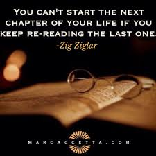 New Chapter Quotes Beauteous You Can't Start The Next Chapter Of Your Life If You Keep Rereading
