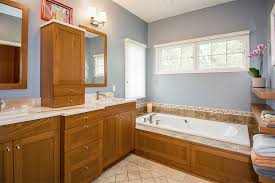 bathroom remodel des moines. Master Bathroom Remodel By Silent Rivers Des Moines Features Custom Cherry Cabinets, Tile Tub Surround