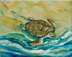 sea turtle paintings canvas sea turtle sea turtle paintings