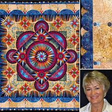 This stunning quilt, ARANDANO, by Marilyn Badger of St. George, UT ... & This stunning quilt, ARANDANO, by Marilyn Badger of St. George, UT,. Daytona  Beach ... Adamdwight.com