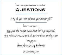 Interview Question Why Do You Want To Leave Your Current Job
