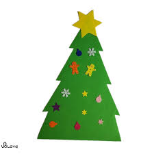 Wall Christmas Trees Felt Christmas Tree Door Wall Hanging Toddler Kid Amp Children
