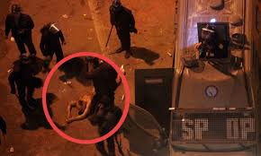 عاجل: مسحول الاتحادية يعترف باعتداء الشرطة عليه