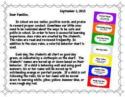 Editable Color Coded Classroom Behavior Management Chart