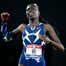 Athing Mu easily wins the 800-meter ...