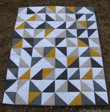 627handworks | baby quilt & Gray and yellow baby quilt is finished! So, hip hop hooray… ho… hey… ho… Adamdwight.com