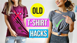 easy diy t shirt dress 6 old t shirt s every girl must know