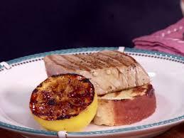 tuna steaks with lemon pepper er recipe from paula deen via food network