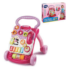 Vtech First Steps Baby Activity Toy Walker For Girls Walmart Walkers ...