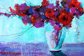 painting with acrylics flowers using acrylic paint watercolor painting