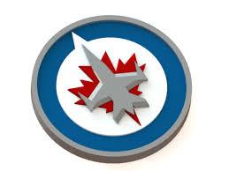 3D Printed Winnipeg Jets logo by Ryšard Poplavskij | Pinshape