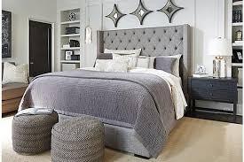 king bedroom sets ashley furniture. Ashley Furniture Tufted Headboard 17413 Within Upholstered Idea 3 King Bedroom Sets