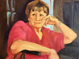 Aunt Marylee Painting by Cecile Hines