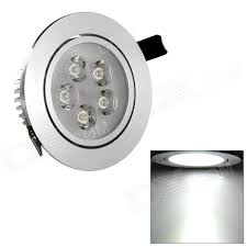 HIWin SDY592 5W 450lm 6500K White 5-LED Ceiling Down Light w ...