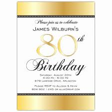 Cool Free 80th Birthday Invitation Templates Collection