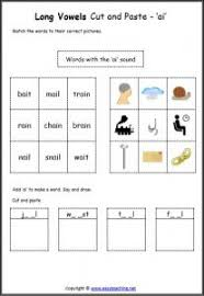 Here, you will find free phonics worksheets to assist in learning phonics rules for reading. Long Vowel Cut Paste Worksheets Spelling Sheets Easyteaching Net