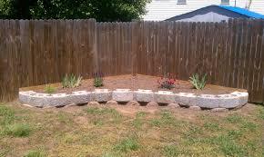 cinder block garden wall. Peculiar Home Design Cinder Block Retaining Wall Foundation Rustic Garden