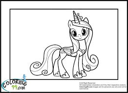 Small Picture little pony princess cadence coloring pages