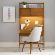 west elm x pbt Mid-Century Smart Wall Desk | Pottery Barn Teen