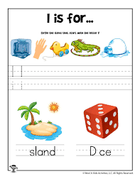 Award winning educational materials like worksheets, games, lesson plans and activities designed to help kids succeed. Letter I Phonics Recognition Worksheet Woo Jr Kids Activities