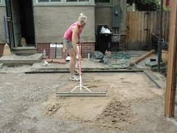 how to lay a brick paver patio how