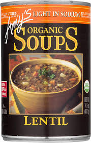 Amy S Light Lean Roasted Polenta With Swiss Chard Amys Soups Light In Sodium Organic Lentil Soup 14 5 Ounce