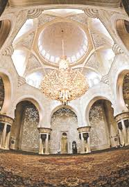 the guinness book of world records as it features the largest carpet in the world the biggest chandelier and the largest dome of its kind in the world