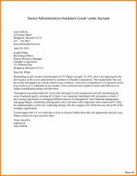 6 Executive Administrative Assistant Cover Letter Mael