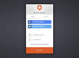 Sign In App Prototyping Login And Sign Up Forms For Web And Mobile
