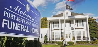 exterior of port jefferson station funeral home