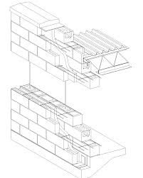 Cavity Wall Concrete Block VeneerReinforced Concrete Block - Insulating block walls exterior