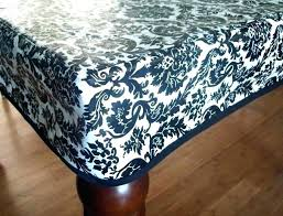 48 inch round fitted vinyl tablecloth x 72