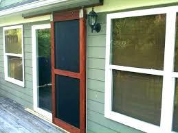 replacement screen door for patio sliding glass repair pella doors cost