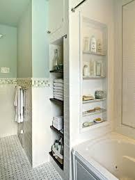 bathtub surround bathtub with storage niches put in a few niches between the studs for shampoo