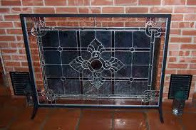 custom made fireplace screen wolf fireplace screen fireplace glass screen fireplace screen