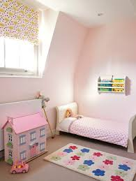 pink wall colors contemporary kids
