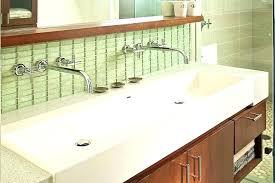trough bathroom sink various bathroom trough sink double faucet double trough bathroom sink commercial bathroom trough trough bathroom sink