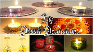 6 diy diwali decoration ideas 2016 easy unique youtube