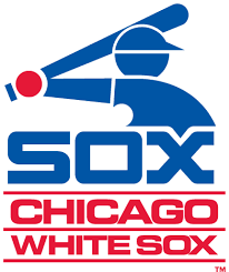 Chicago White Sox Primary Logo (1976) - Blue baseball player icon ...