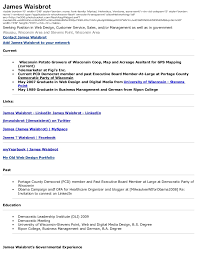 Blogger About Me With Resume