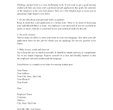 Student Cover Letter For Resume Rn Cover Letter For Resume Nursing Student Nurse Practitioner 42