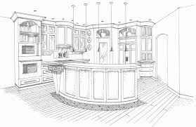simple kitchen drawing. Interior Design Sketches Kitchen Imspirational Ideas 1 On Home Designer Simple Drawing M