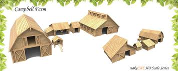 campbell farm ho scale