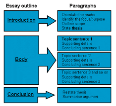 structure for an essay co structure