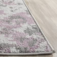 useful lavender area rug nursery purple rugs with accents eggplant colored