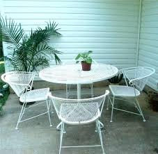 wrought iron vintage patio furniture. Wrought Iron Patio Furniture White Iron. Staggering 5 Piece Set Ideas Et Re Vintage