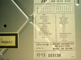 fujitsu ten car radio stereo audio wiring diagram autoradio car radio