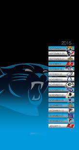 panthers schedule wallpaper for phone