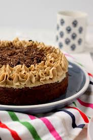 Homemade coffee cake with crumb topping (simple to make. Coffee Flavored Cake W Coffee Buttercream